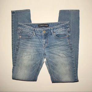 Express jeans Stella skinny low rise size 6 women